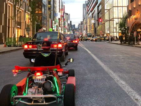 Go Karting in Ginza