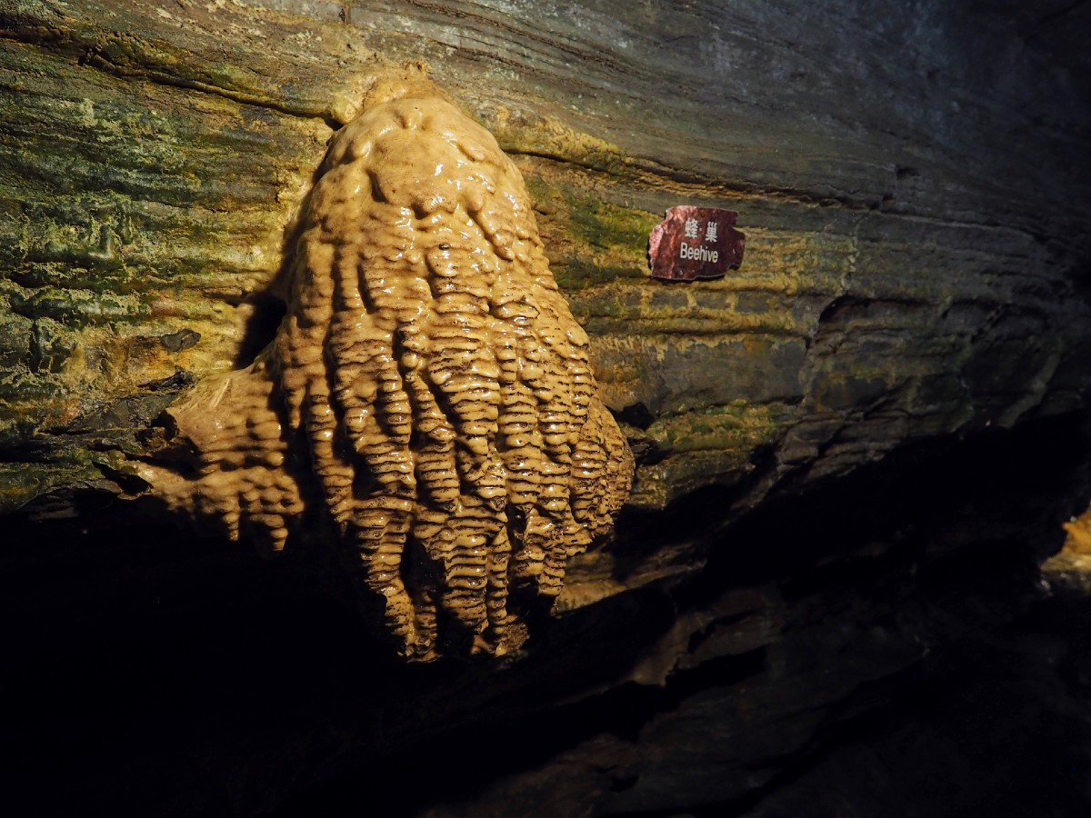 Beehive Formation in Secret Caverns