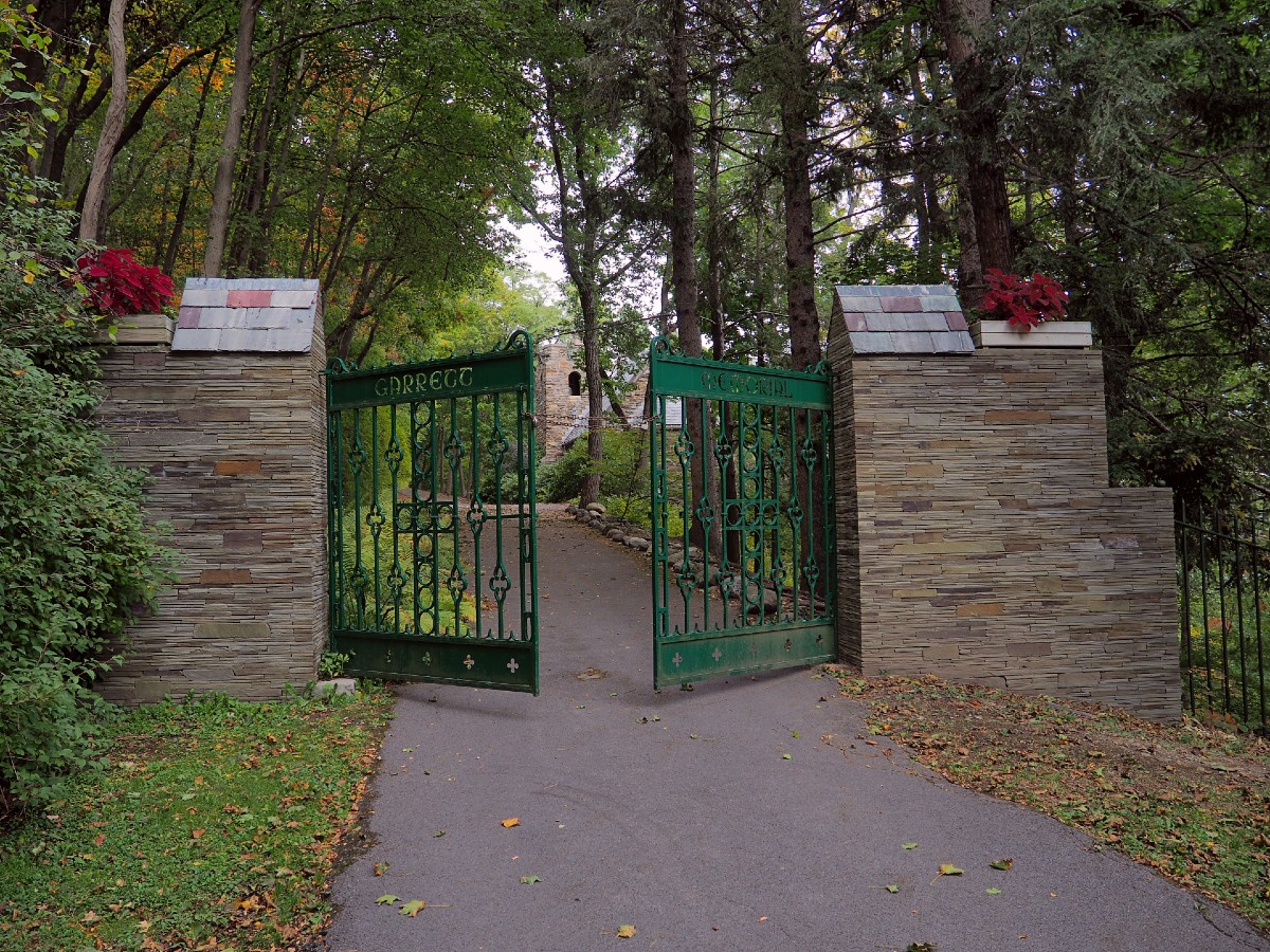 Garrett Memorial Chapel Gate