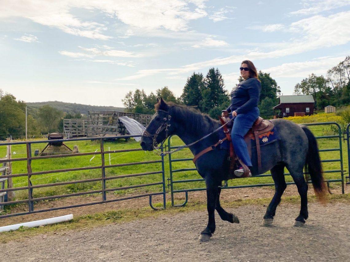 Dani Horseback Riding in Central New York