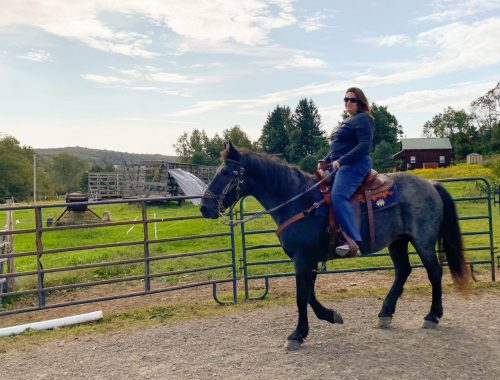 Dani Horseback Riding in Central New York
