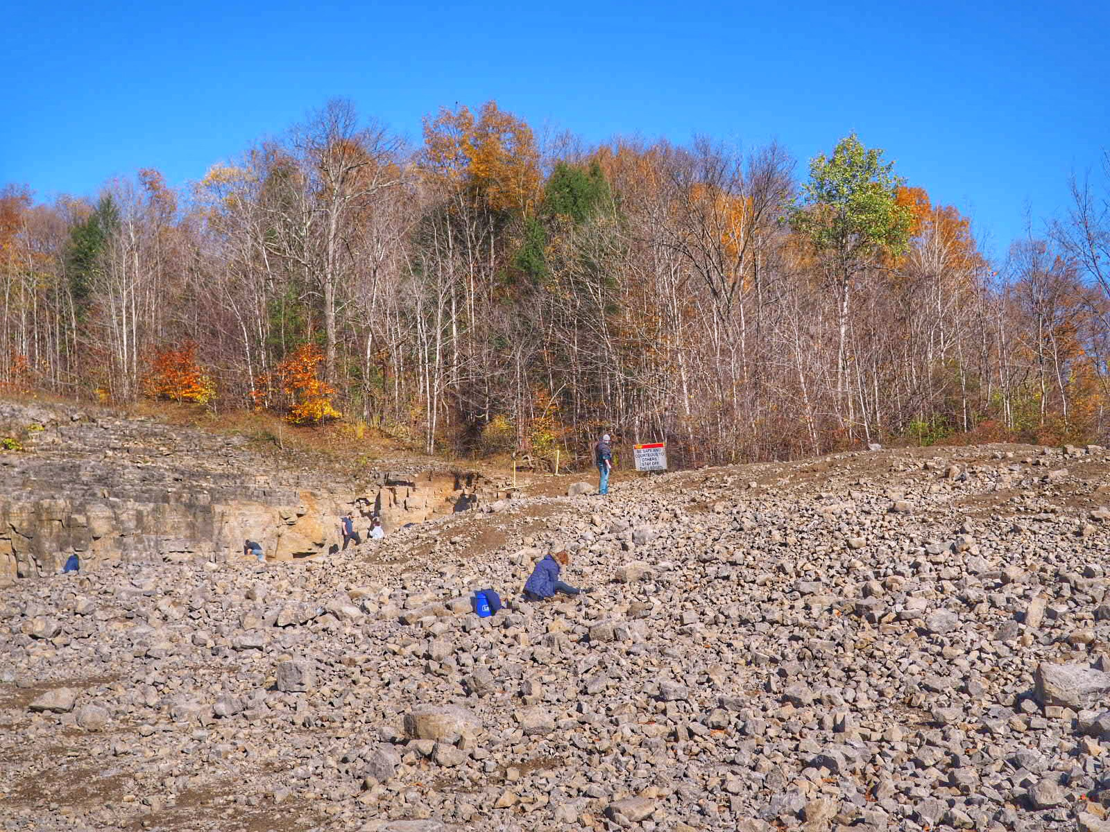 Herkimer Diamond Mines in Fall