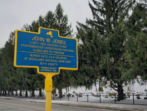 John W Jones Plaque