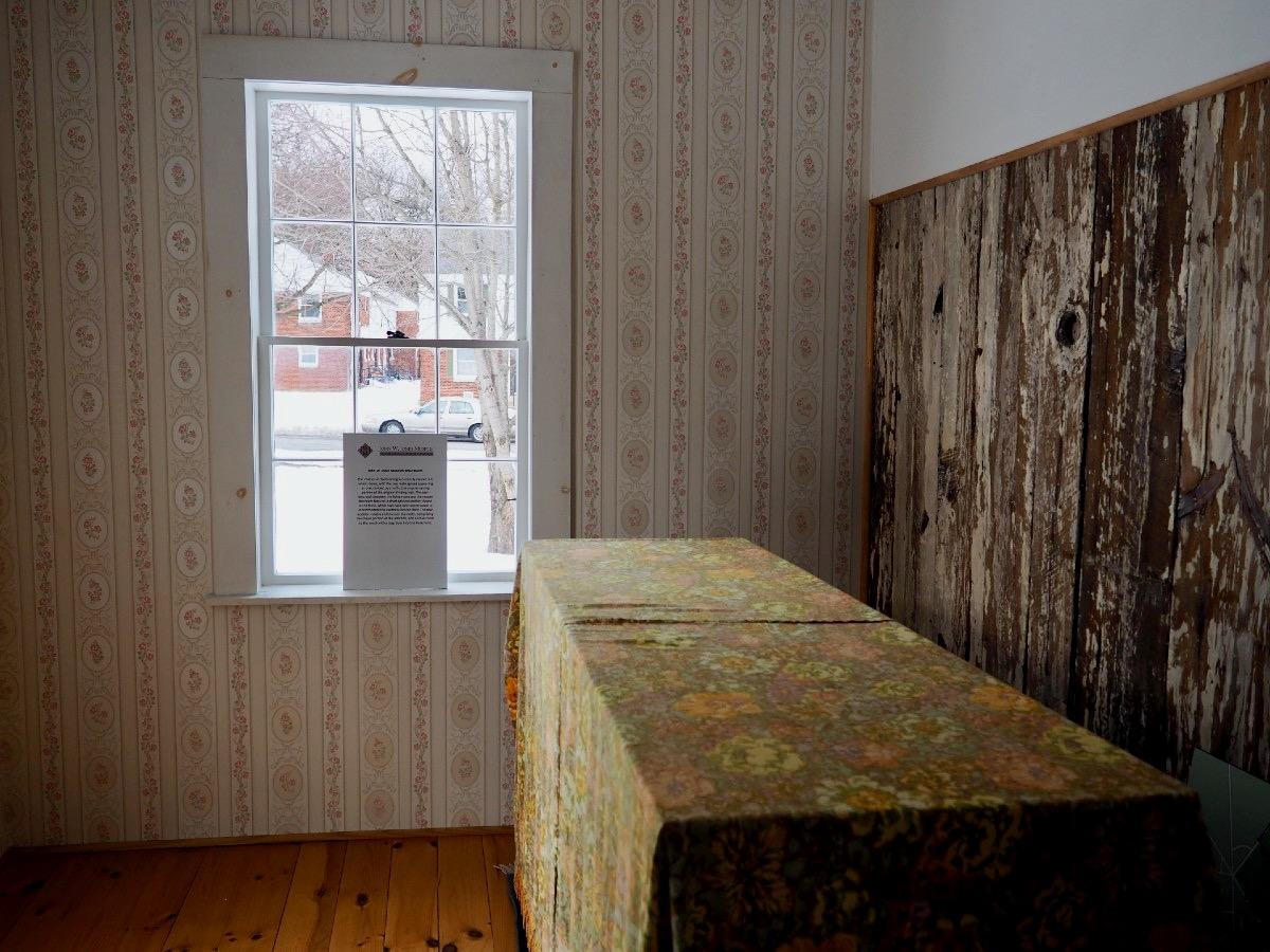 Restored Room at John W Jones Museum