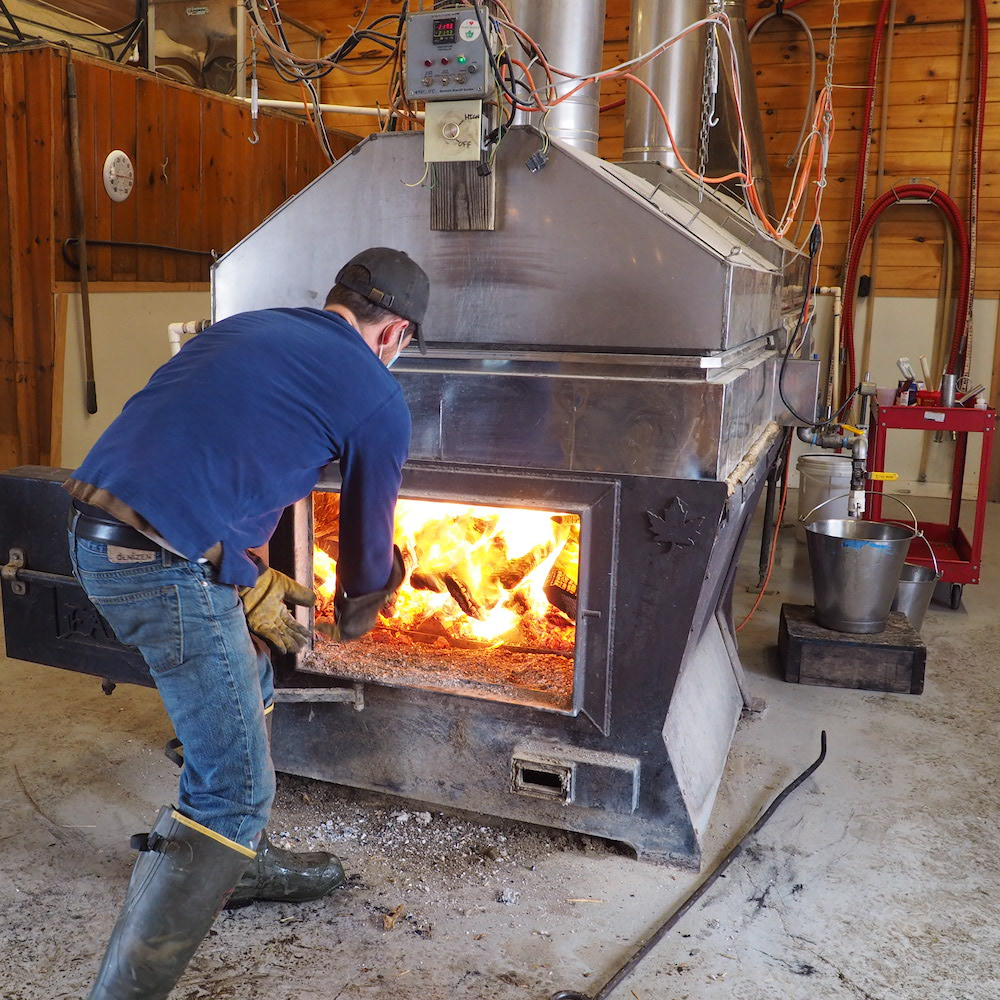 Critz Farms Maple Evaporator