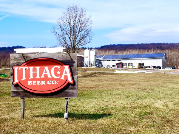 Ithaca Beer Company Sign