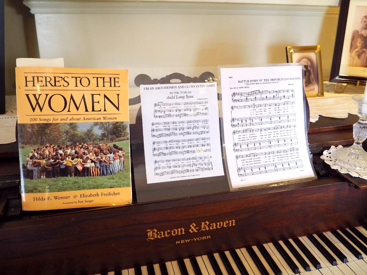 Matilda Joslyn Gage Piano