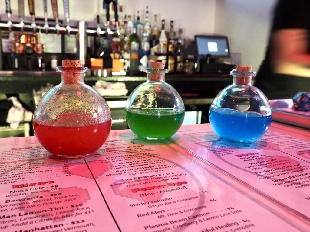 Three Lives Bar Potions