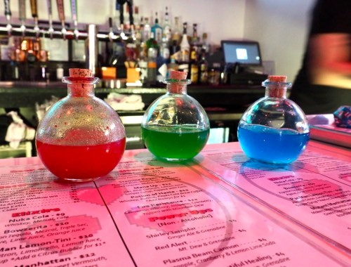 Three Lives Bar Potions