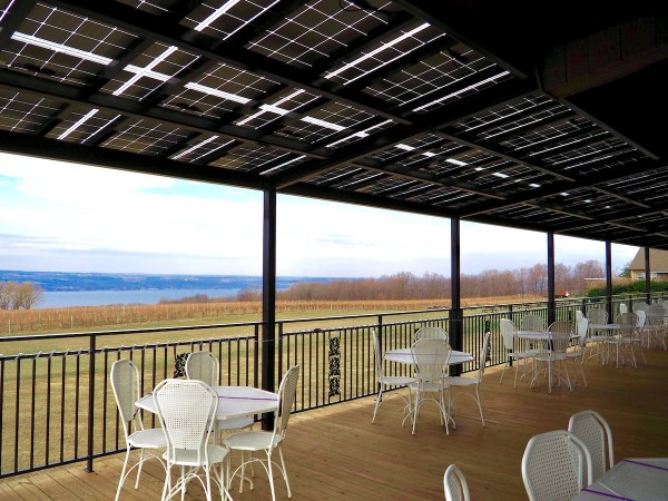Wagner Valley Ginny Lee Cafe Solar Panels