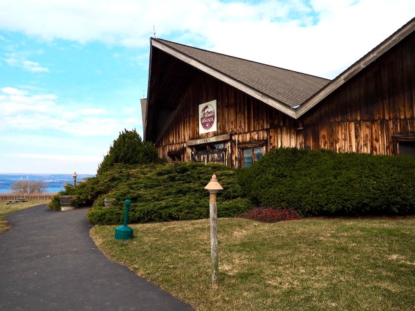 Wagner Valley Vineyard in the Finger Lakes
