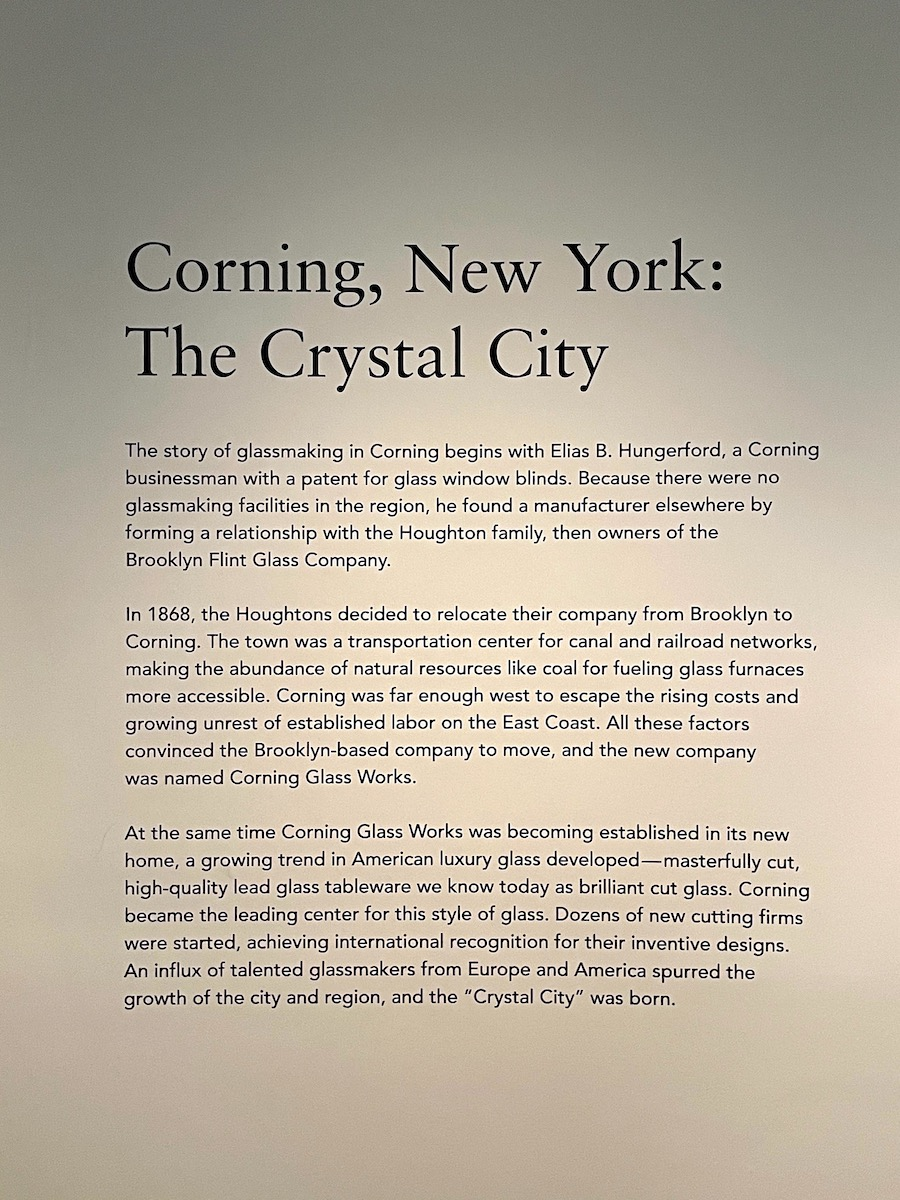 Corning - The Crystal City