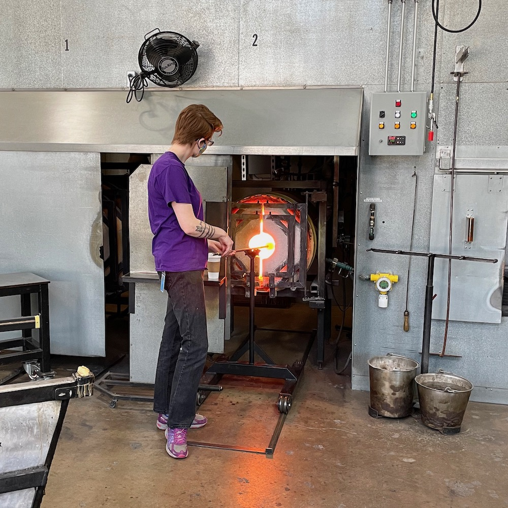 Glassblowing Studio at Corning Museum of Glass
