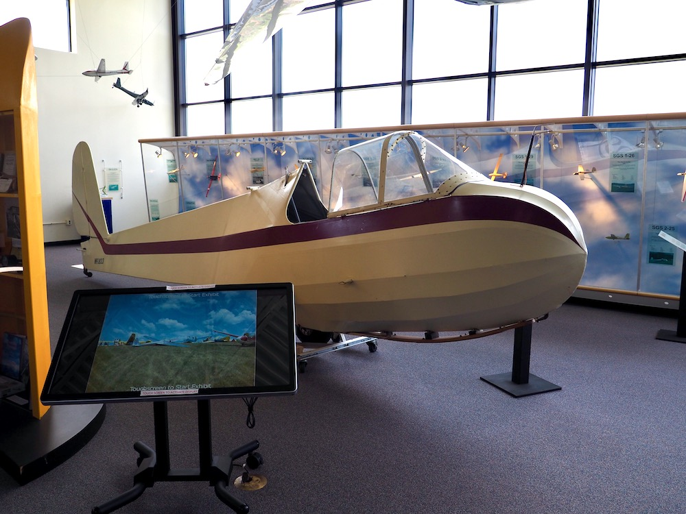 Glider Display at the National Soaring Museum
