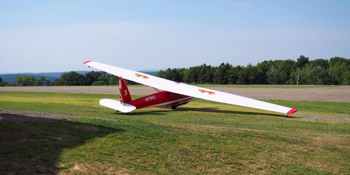 Glider in Elmira