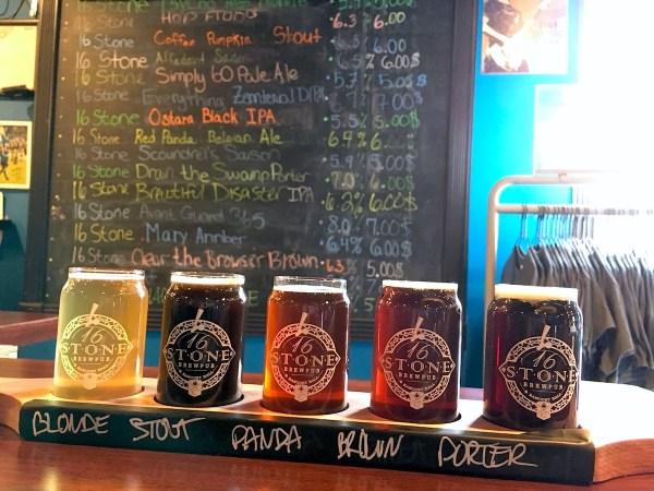 Utica Breweries - 16 Stone Pub