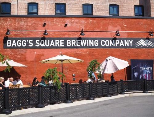 Baggs Square Brewing Company in Utica