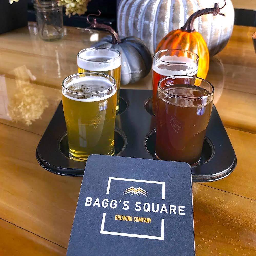 Baggs Square Brewing Flight