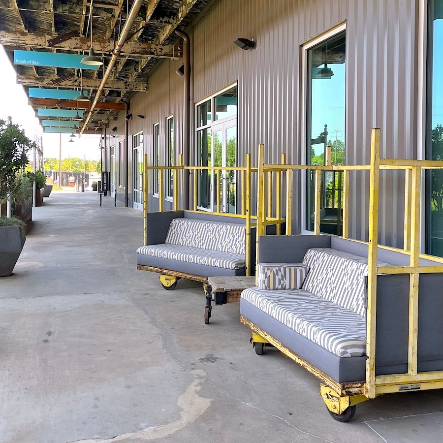 Camp North End Upcycled Seating