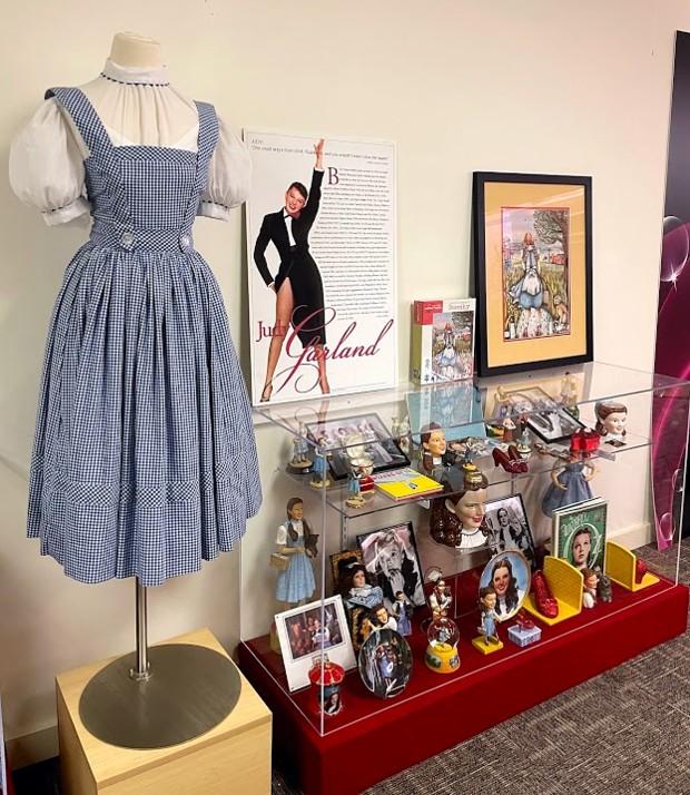 Judy Garland Display