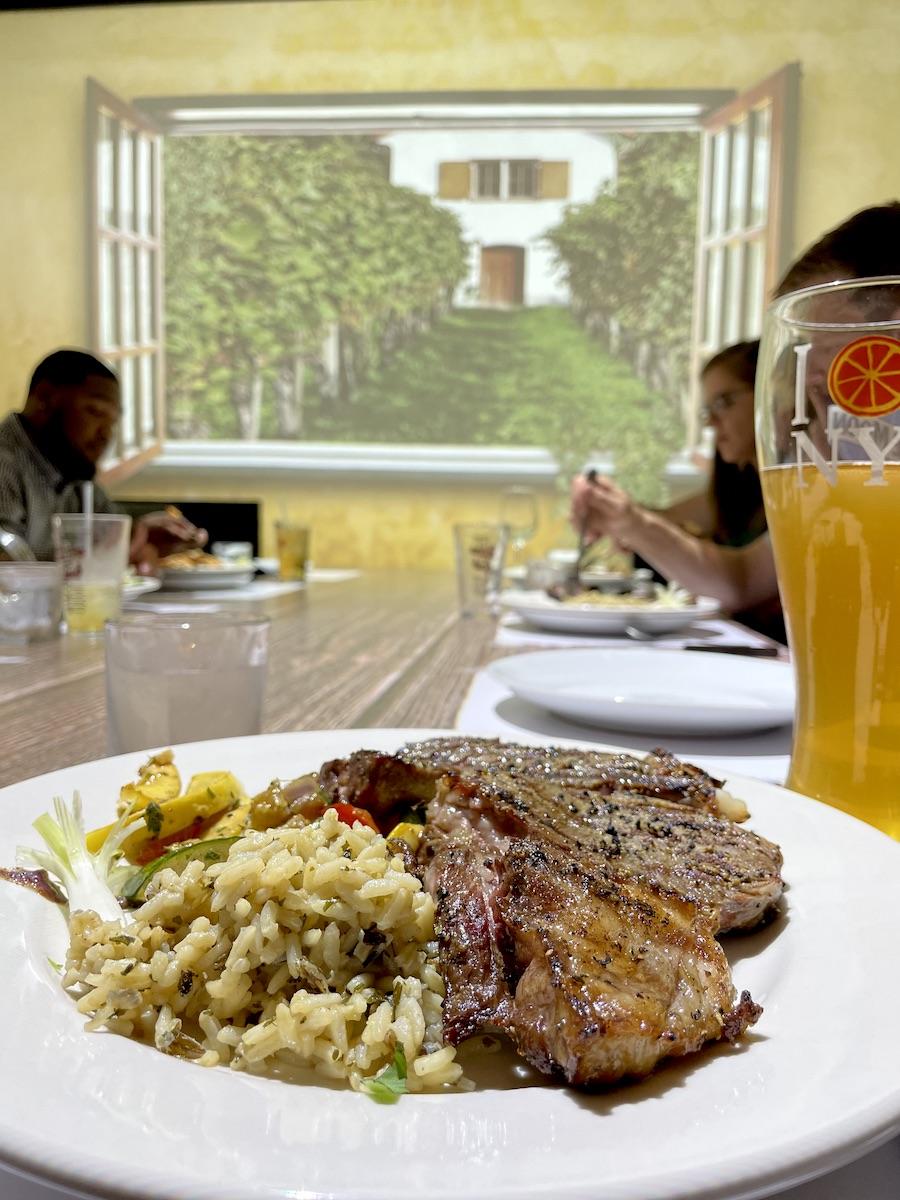 Virtual Dinner Steak Entree