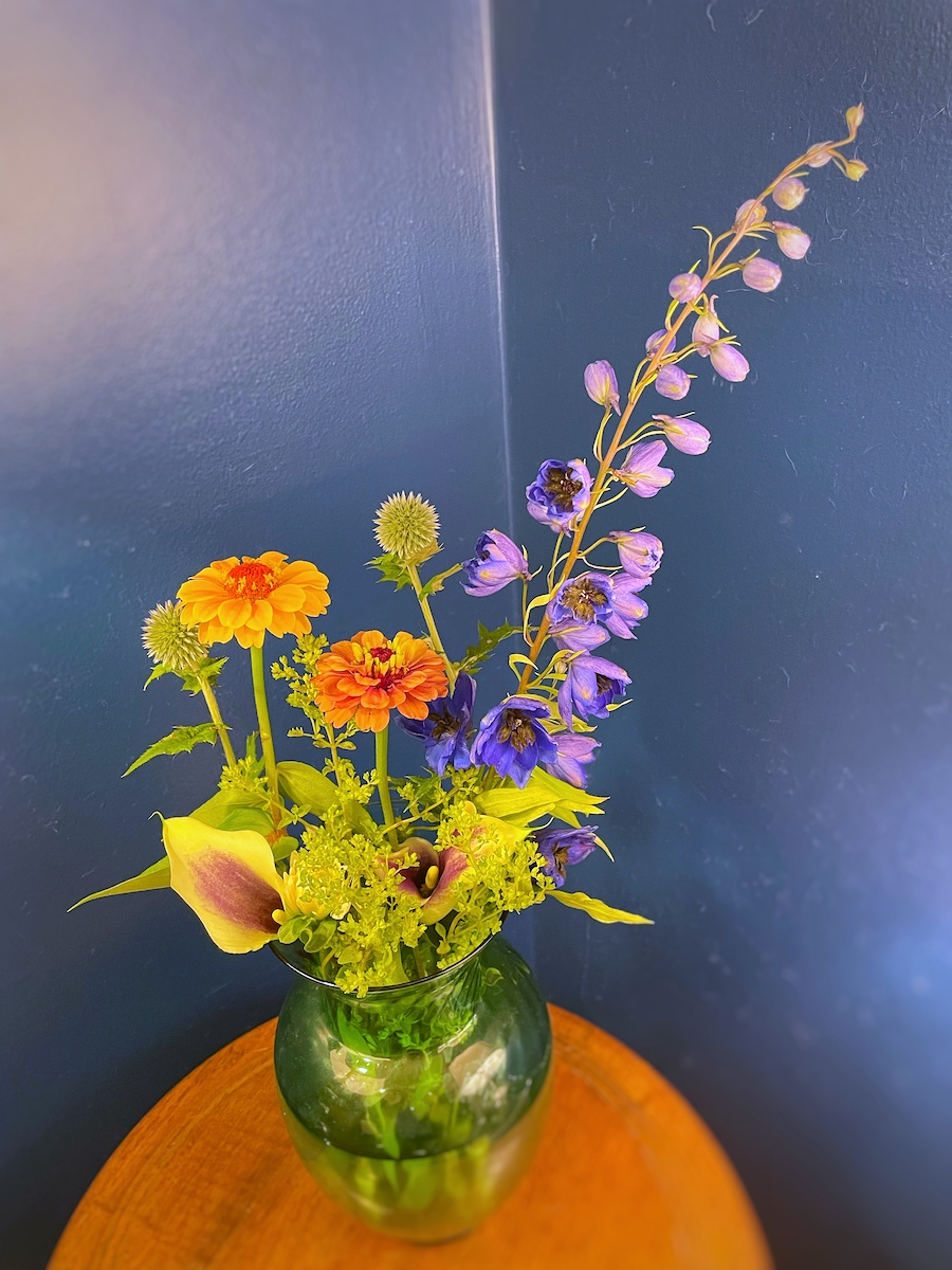 Flower Bouquet at Home
