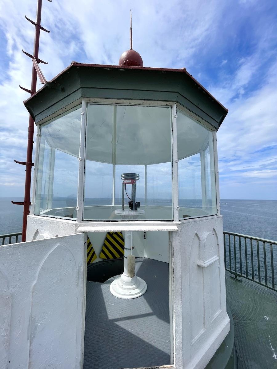 Oswego Lighthouse Lantern Room