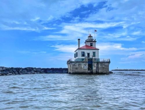 Oswego West Pierhead Lighthouse