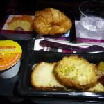 【機内食】カタール航空 羽田→ドーハ(2015年9月)