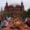 秋のモスクワ一人旅1~ドモジェドヴォ空港から赤の広場へ