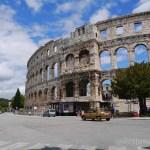 2017GW★クロアチア&イタリア1人旅 11 街中遺跡だらけのプーラ(PULA)