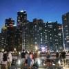 週末釜山2017夏(7)The Bay101と釜山駅からの夜景