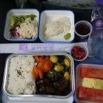 【機内食】マカオ航空(Air Macau)マカオ→東京・成田(2017年12月)