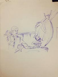 Sketches by Shikhar Virmani