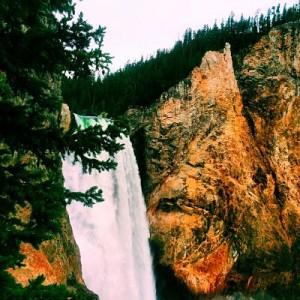 Yellowstone Falls Trail