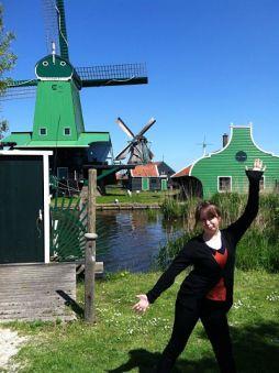 Windmill Holland Tourist