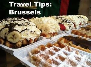 Waffles in Brussels Belgium