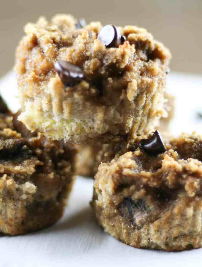 nut-free Paleo banana bread muffin