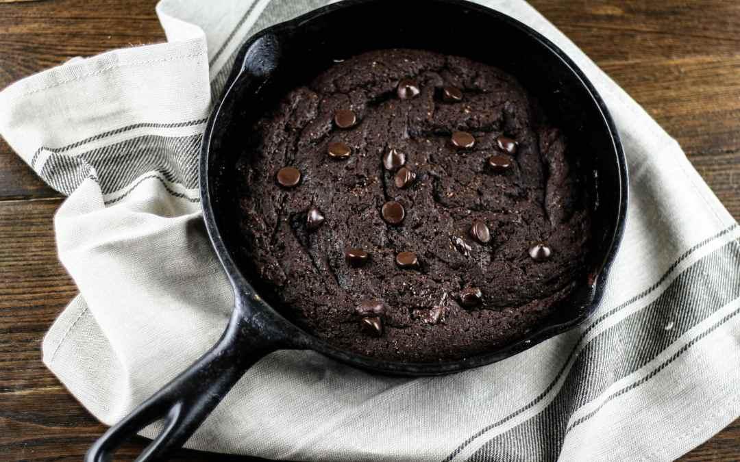 Grain-free Skillet Brownie