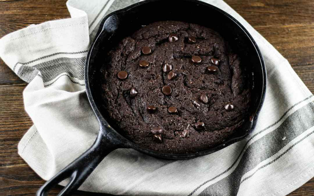 Grain-free Skillet Brownie