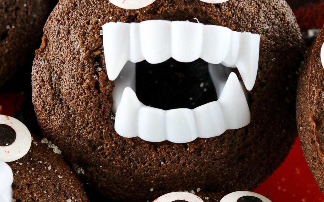 Paleo Chocolate Vampire Donuts