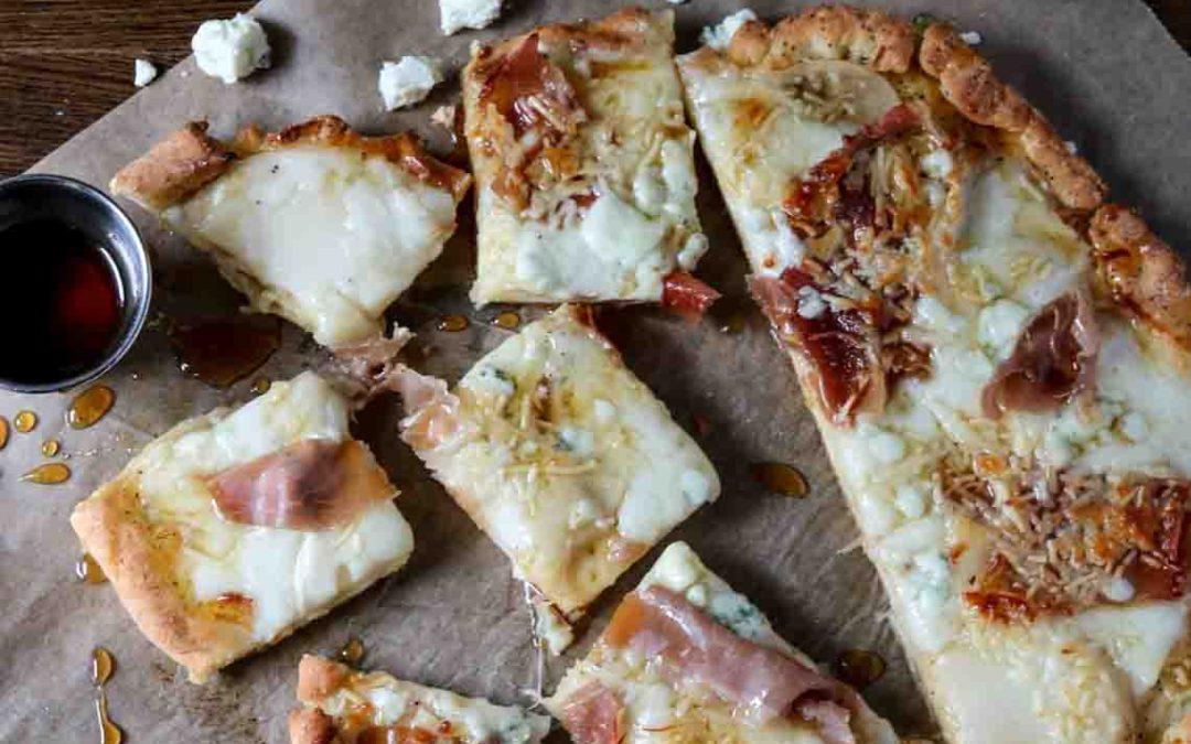 Pear, Gorgonzola & Honey Gluten-free Pizza
