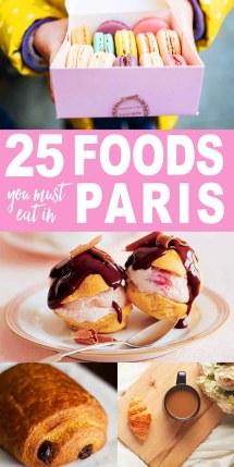 Foods In Paris Wanderlust Crew