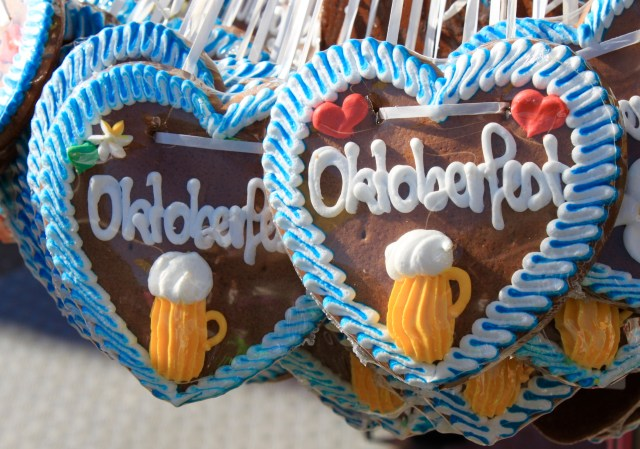 Celebrating Oktoberfest with Gingerbread Hearts