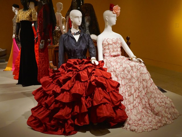 Oscar de la Renta Fashion Exhibit at MFA Houston
