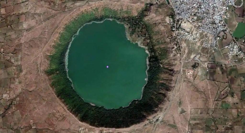 Lonar Crater lake - Wanderlustgary