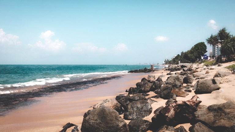 Mount Lavinia Beach - Wanderlustgary.com