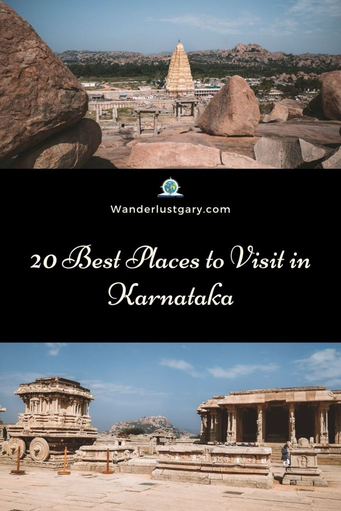 20 Best Places to Visit in Karnataka & Travel Guide