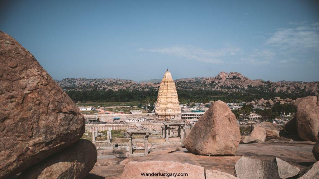 Virupaksha Temple Hampi - Wanderlustgary