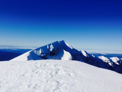 Mt St Helens - True Summit